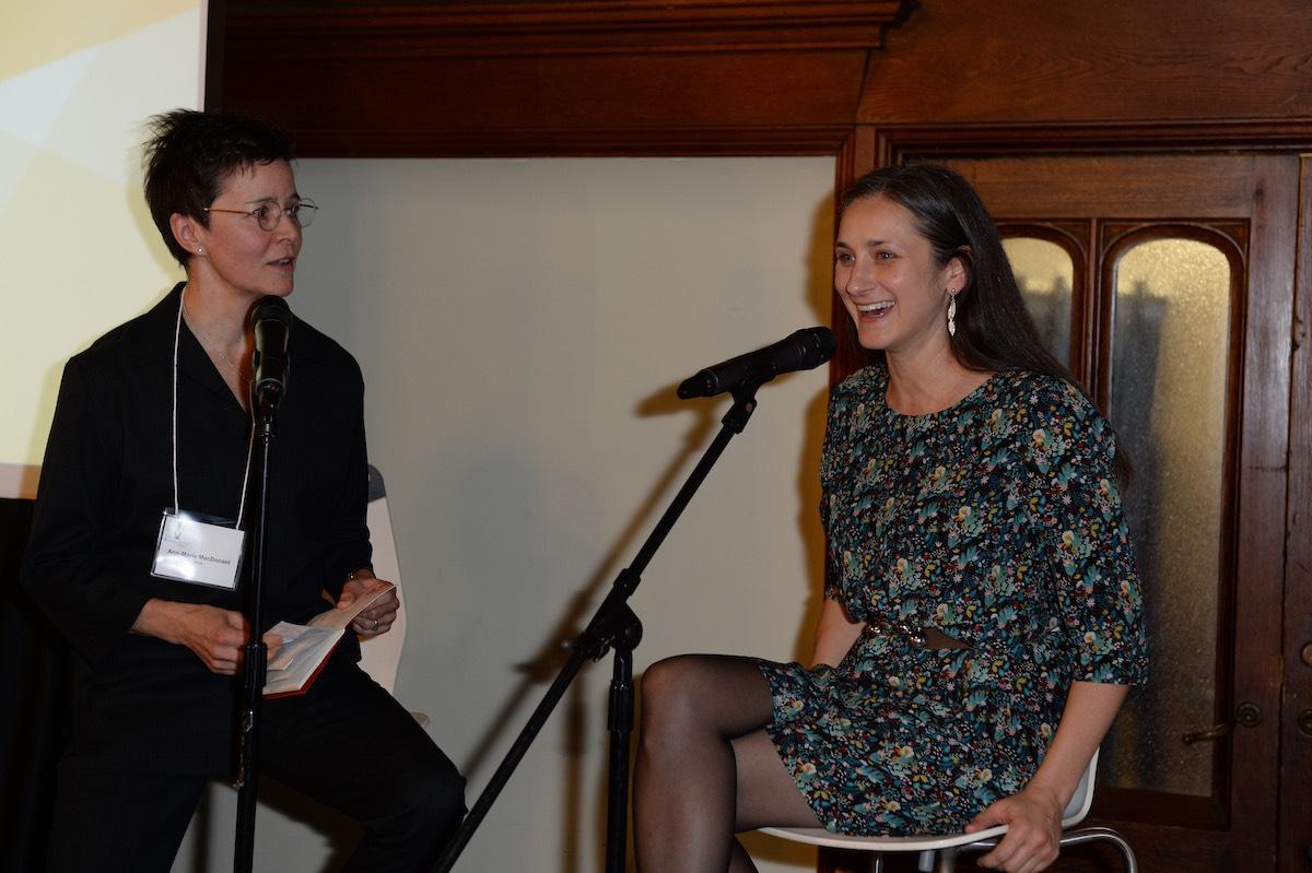 Ann-Marie MacDonald withHannah Moscovitch