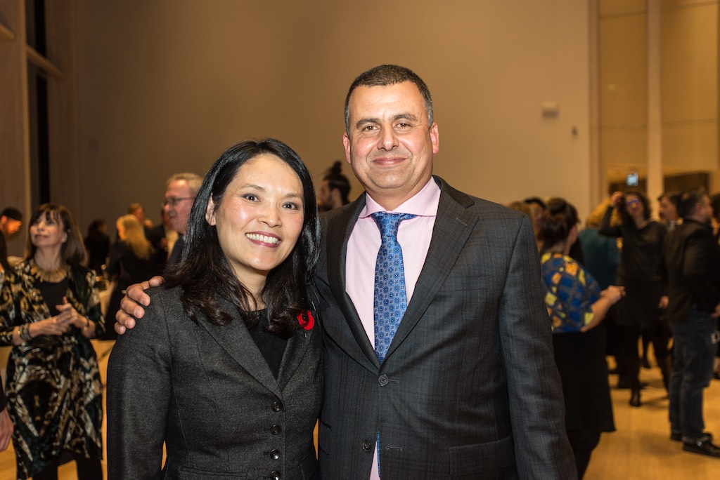 Jenny Kwan, MP, and Marcus Youssef